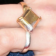 Chloe Grace Moretz Jewelry - gold-ring