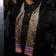 Chris Brown Geometric Tie