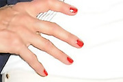 Christie Brinkley Red Nail Polish