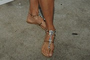 Christie Brinkley Studded Sandals