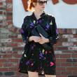 Christina Hendricks Day Dress
