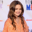 Ciara Bravo Hair - Long Center Part