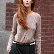 Cintia Dicker Clothes - Boatneck Sweater