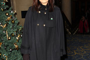 Claudia Winkleman Wool Coat
