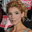 Clotilde Courau Loose Bun