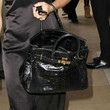 Clotilde Courau Patent Leather Tote