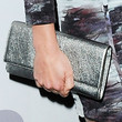 Cobie Smulders Metallic Clutch
