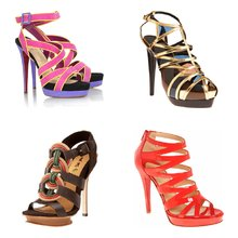 Colorful and Funky Heels