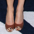 Connie Britton Peep Toe Pumps