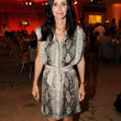 Courteney Cox Clothes - Print Dress
