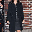 Courteney Cox Clothes - Trenchcoat