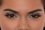 Kendall Jenner Metallic Eyeshadow