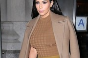 Kim Kardashian Fitted Blouse