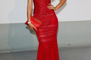 Bianca Balti Corset Dress