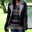Daisy Lowe Clothes - Motorcycle Jacket