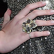 Dakota Fanning Gemstone Ring