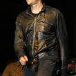 Damon Albarn Clothes - Leather Jacket