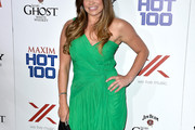 Danielle Fishel One Shoulder Dress