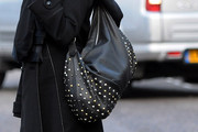 Dannii Minogue Studded Hobo Bag