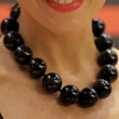 Dannii Minogue Wooden Beaded Necklace