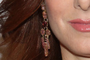 Debra Messing Dangling Gemstone Earrings