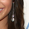 Demi Lovato Jewelry - Dangling Diamond Earrings