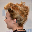 Demi Lovato Hair - French Twist