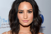 Demi Lovato Shoulder Length Hairstyles
