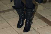 Denise Richards Knee High Boots
