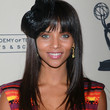Denise Vasi Long Straight Cut with Bangs