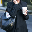 Denise van Outen Leather Hobo Bag