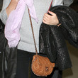 Diane Kruger Quilted Leather Bag
