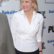 Diane Sawyer Clothes - Fitted Blouse