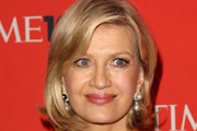 Diane Sawyer Short Side Part
