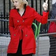 Diane Sawyer Clothes - Trenchcoat