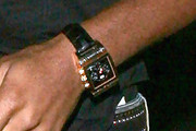 Didier Drogba Leather Band Quartz Watch