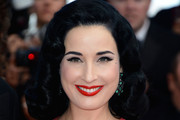 Dita Von Teese Shoulder Length Hairstyles