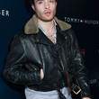 Ed Westwick Clothes - Bomber Jacket