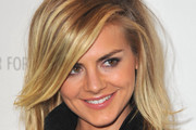 Eliza Coupe Attended An Evening With 'Happy Endings' at The Paley Center With Sexy, Tousled Hair