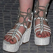 Elle Fanning Shoes - Wedges