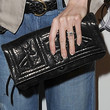 Ellen Pompeo Leather Clutch