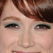 Ellie Kemper  Bright Eyeshadow