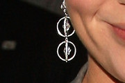 Emily Blunt Sterling Dangle Earrings