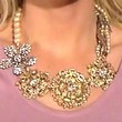 The Bachelorette Gold Statement Necklace