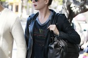 Emily VanCamp Leather Jacket