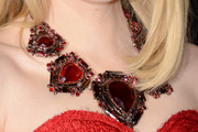 Emma Stone Gemstone Statement Necklace
