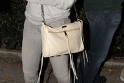 Emmanuelle Chriqui Chain Strap Bag