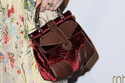 Erin O'Connor Buckled Purse