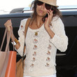Eva Longoria Clothes - Scoopneck Sweater