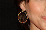Eva Mendes Gold Hoops